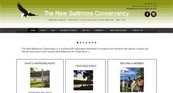 Preview of newbaltimoreconservancy.org