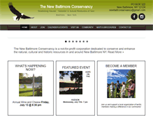 Tablet Preview of newbaltimoreconservancy.org